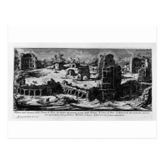 The Roman antiquities, t. 1, Plate XXVIII. 'Baths Postcard