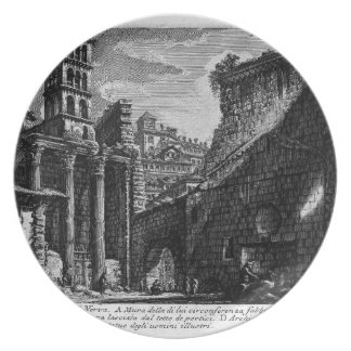 The Roman antiquities, t. 1, Plate XXX. Forum