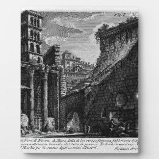 The Roman antiquities, t. 1, Plate XXX. Forum Photo Plaque