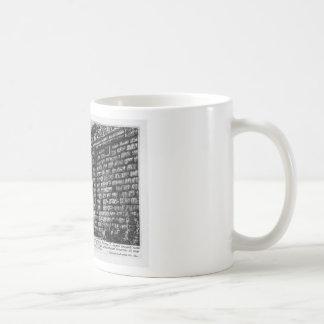 The Roman antiquities, t. 1, Plate XXXI. Temple Classic White Coffee Mug