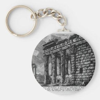 The Roman antiquities, t. 1, Plate XXXI. Temple Keychain