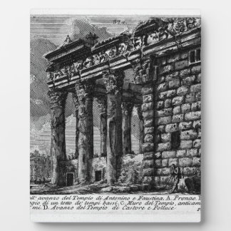 The Roman antiquities, t. 1, Plate XXXI. Temple Plaque