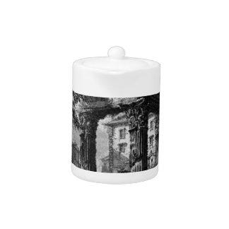 The Roman antiquities, t. 1, Plate XXXII. Ruins Teapot