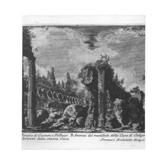 The Roman antiquities, t. 1, Plate XXXIII. Ruins Notepad