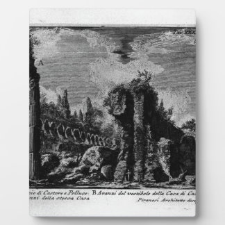 The Roman antiquities, t. 1, Plate XXXIII. Ruins Display Plaques