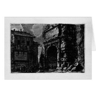 The Roman antiquities, t. 1, Plate XXXIV. Veduta Card