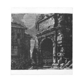 The Roman antiquities, t. 1, Plate XXXIV. Veduta Notepad