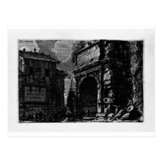 The Roman antiquities, t. 1, Plate XXXIV. Veduta Postcard