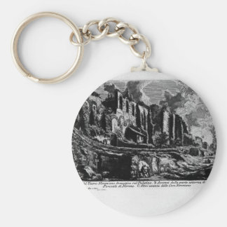 The Roman antiquities, t. 1 Plate XXXV by Giovanni Keychain