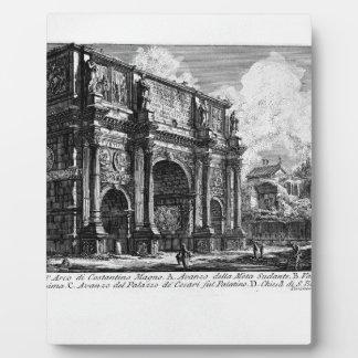 The Roman antiquities, t. 1, Plate XXXVI Plaques