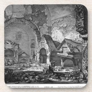 The Roman antiquities, t. 2, Plate IX. Plan Drink Coaster