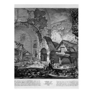 The Roman antiquities, t. 2, Plate IX. Plan Postcard