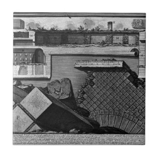 The Roman antiquities, t. 2, Plate LXII. Cutaway v Tile