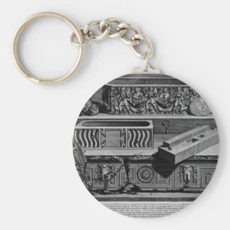 The Roman antiquities, t. 2, Plate XLV Keychain