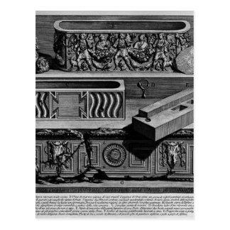 The Roman antiquities, t. 2, Plate XLV Postcard