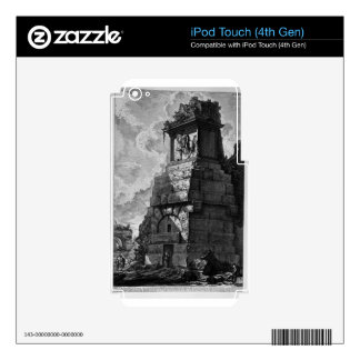 The Roman antiquities, t. 2, Plate XXXIX Decal For iPod Touch 4G