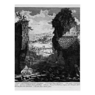 The Roman antiquities, t. 3, Plate VI. View Postcard