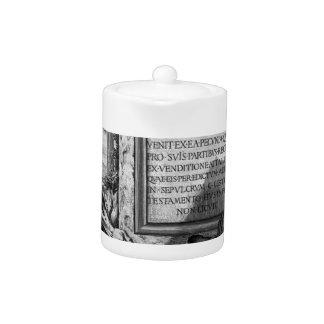 The Roman antiquities, t. 3, Plate XLIII. Nuts... Teapot