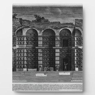 The Roman antiquities, t. 3, Plate XXIII. Cutaway Display Plaque