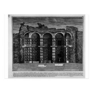 The Roman antiquities, t. 3, Plate XXIII. Cutaway Postcard