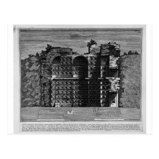The Roman antiquities, t. 3, Plate XXIV Postcard