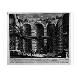 The Roman antiquities, t. 3, Plate XXVI Postcard