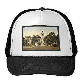 The roman arch and the church, Aix, France classic Trucker Hat