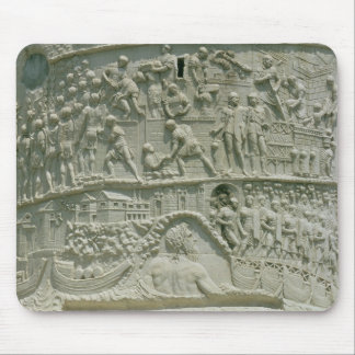 The Roman army crossing the Danube Mouse Pad