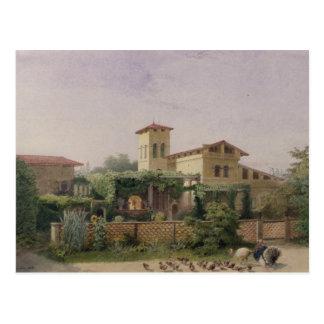 The Roman Baths, 1848 Postcard