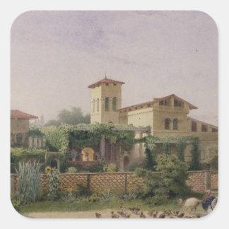 The Roman Baths, 1848 Stickers
