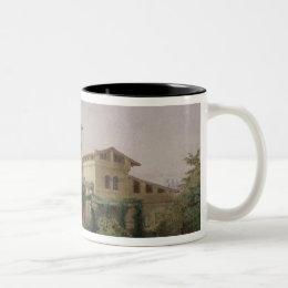 The Roman Baths, 1848 Two-Tone Coffee Mug