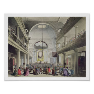 The Roman Catholic Chapel, Lincolns Inn Fields, fr Poster