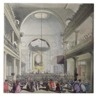 The Roman Catholic Chapel, Lincolns Inn Fields, fr Tile