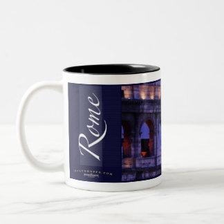 The Roman Colosseum Two-Tone Coffee Mug
