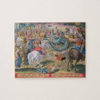The Roman Consul Atilius Subdues the African Serpe Jigsaw Puzzle