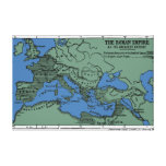 The Roman Empire At Its Greatest Extent Gallery Wrapped Canvas