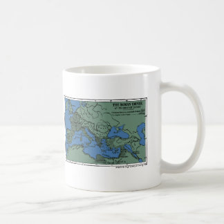 The Roman Empire At Its Greatest Extent Coffee Mug