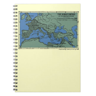 The Roman Empire At Its Greatest Extent Notebook