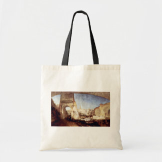 The Roman Forum For Mr Soane S Museum By Turner Canvas Bag