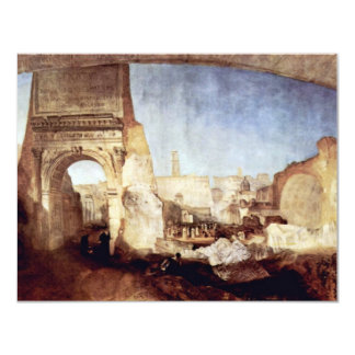 The Roman Forum For Mr. Soane'S Museum By Turner Custom Announcements