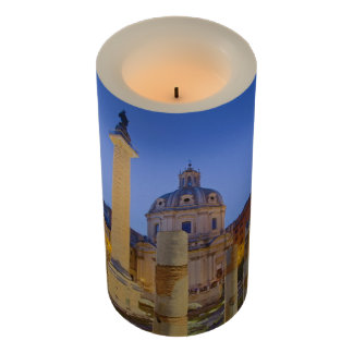 The Roman Forum in Rome Flameless Candle