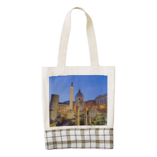 The Roman Forum in Rome Zazzle HEART Tote Bag