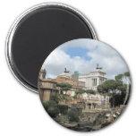The Roman Forum - Latin: Forum Romanum Refrigerator Magnets