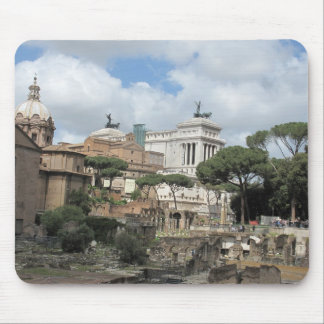 The Roman Forum - Latin: Forum Romanum Mouse Pad