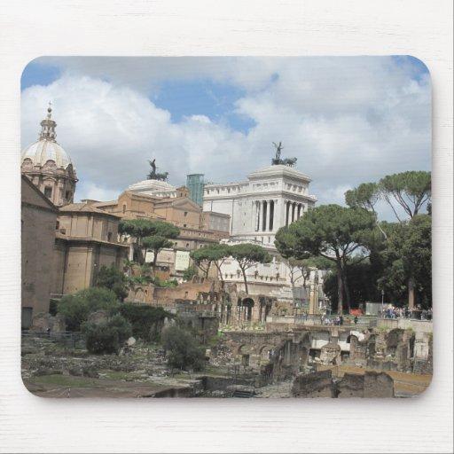 The Roman Forum - Latin: Forum Romanum Mouse Mats