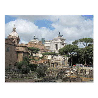 The Roman Forum - Latin: Forum Romanum Postcard