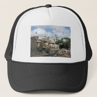 The Roman Forum - Latin: Forum Romanum Trucker Hat