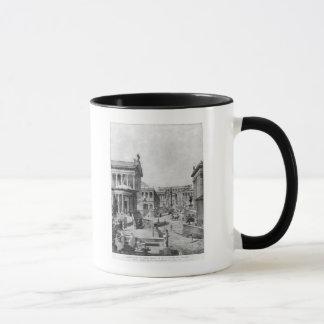 The Roman Forum of Antiquity, 1914 Mug