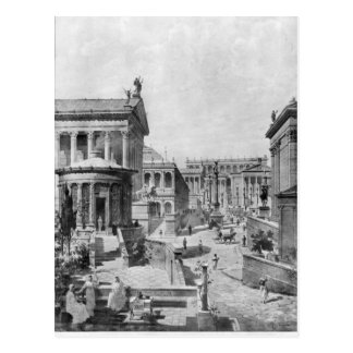 The Roman Forum of Antiquity, 1914 Postcard