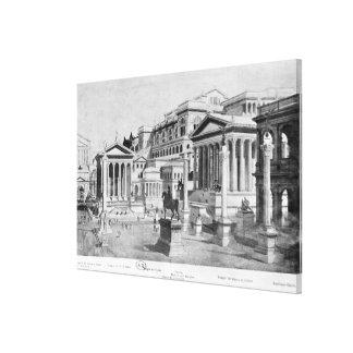 The Roman Forum of Antiquity Canvas Print